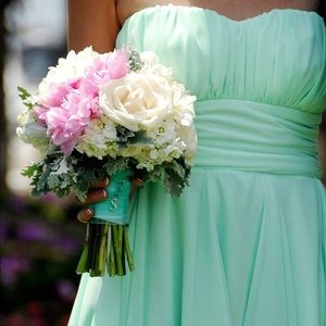 Windsor Mint High Low Dress